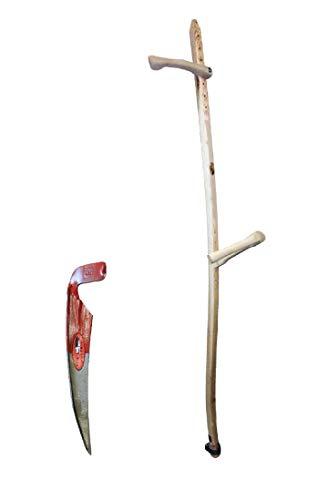 Schröckenfux Holzwurf mit Wildwuchssense Sense 50er Blatt