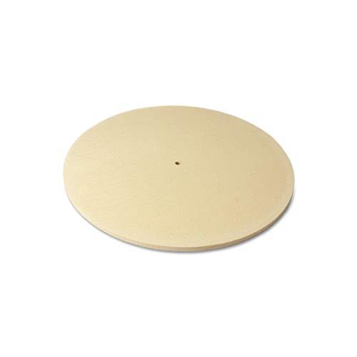 The Felt Store - Disco abrasivo di feltro, diam.: 200 mm, espesor: 5 mm