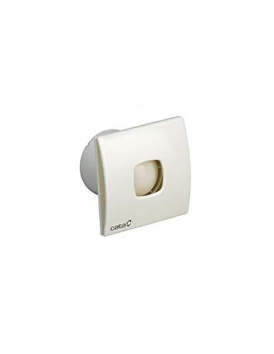 CATA SILENTIS 15 Blanco - Ventilador (Blanco, Techo, Pared, De plástico, 41 dB, 2100 RPM, 320 m³/h)