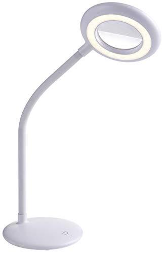 Northpoint Lupenlampe mit Akku Aufladbar Kabellos Lupenleuchte 3x Vergrößerung 1200mAh Li-Io Akku ca. 2,5 Laufzeit 3-stufig Dimmbar (Tischlampe)