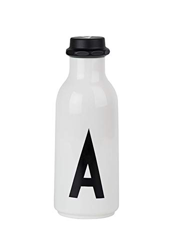 Design Letters AJ Water Bottle with letter - A