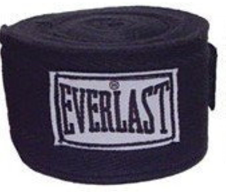 Everlast Worldwide 108Inch Hand Wrap (Black) by Everlast