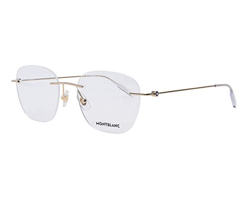 Mont Blanc Brille (MB-0101-O 006) Metall gold