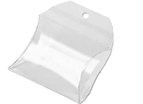 Irpot Chance SAS - 100 X Scatola PORTACONFETTI in PLASTICA Trasparente A Forma di Borsetta
