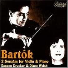 Bartok, 2 Sonatas for Violin and Piano