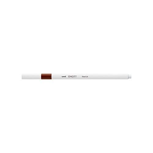 三菱鉛筆 EMOTT(エモット) 水性サインペン PEM-SY ブラウン 21 【× 3 本 】