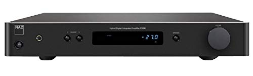 Nad C 338Haus mit Kabel und ohne Kabel Graphit Verstärker Audio