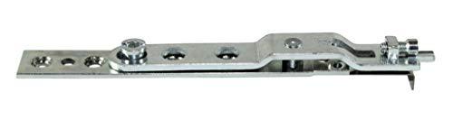 SI Siegenia Fenster Schere 7 DF ON (150mm) für Drehfenster ohne Nutführung incl. SN-TEC Montagematerial