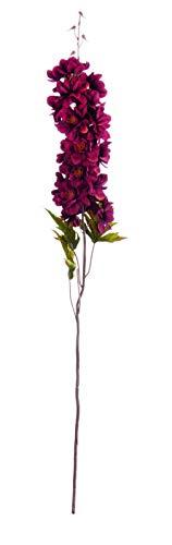 ASA Pfeifenblume, bordeaux DEKO L. 78 66667444 ! Vorteilsset beinhaltet 4 x den genannten Artikel und Set mit 4 EKM Living Edelstahl Strohhalme