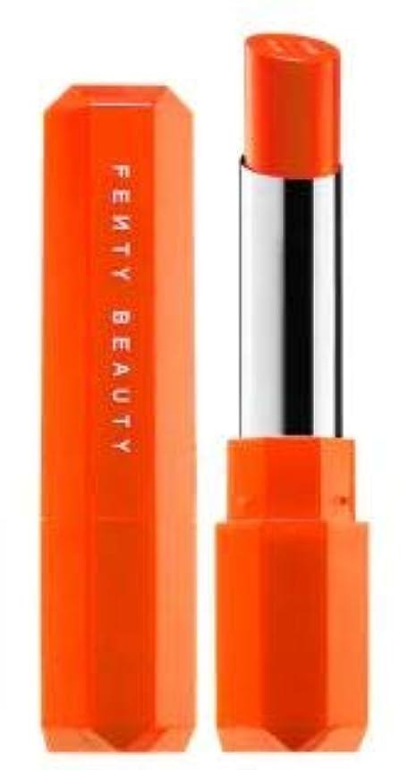 泥仕様ソートFENTY BEAUTY Poutsicle Juicy Satin Lipstick Sun Snatched - blazing orange