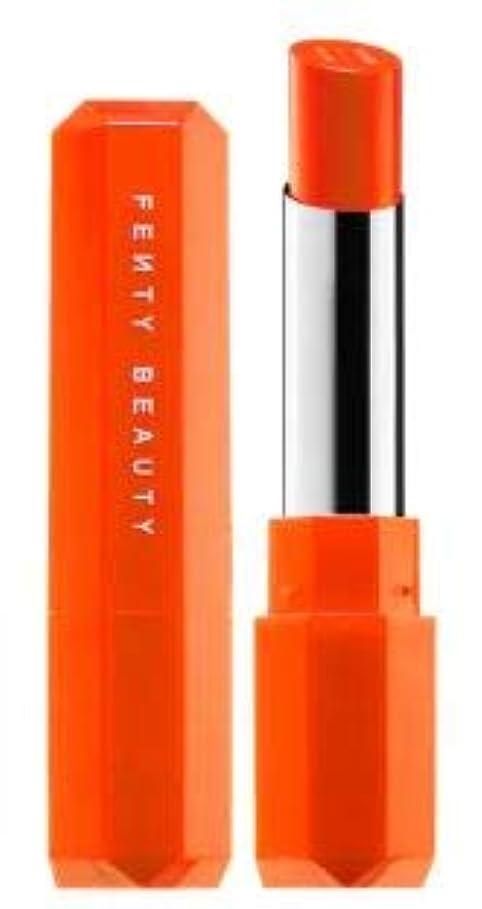抽象ビザ地下室FENTY BEAUTY Poutsicle Juicy Satin Lipstick Sun Snatched - blazing orange