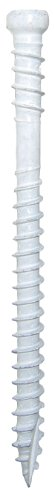GRK 772691176288 8 by 2-Inch Containing 1pkg Equal to 100 Screws White Trim Handypack