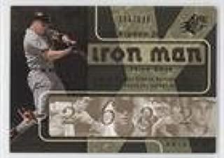 Cal Ripken Jr. #106/699 (Baseball Card) 2007 SPx - Iron Man #IM96