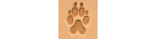 Tandy Leather 3D Stempel Wolf Pfotenabdruck für Leder Prägung 88286–00