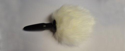 JENNY LANDIS Bunny Tail Butt Anal Animal Plug - 1.0 inch wide plug