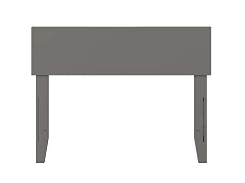 Atlantic Furniture R-181834 Headboard ORLANDO Twin grey