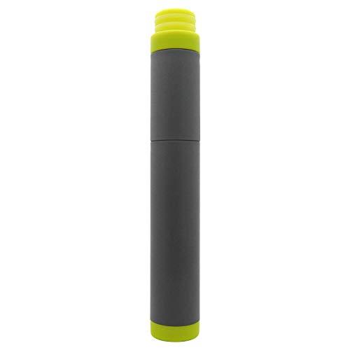 SurviMate gefilterte Wasserflasche für Camping, Wandern, Rucksackreisen und Reisen, BPA-frei mit 4-stufigem Filter-Strohhalm, Replacement-Yellow