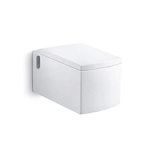 WC - Toilette | Wand WC · Keramik Toilettenschüssel · inkl. Toilettendeckel mit Absenkautomatik | Burgtal 17547