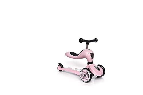 スクート&ライド ハイウェイキック1 ローズ キッズスクーター キックボード 三輪車【日本正規品保証付】