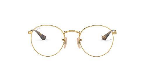 Ray-Ban Herren Brillengestelle 3447V Gold, 47