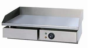 Plancha Parrilla DE Asar ELECTRICA 55CM Industrial Profesional (55cm)