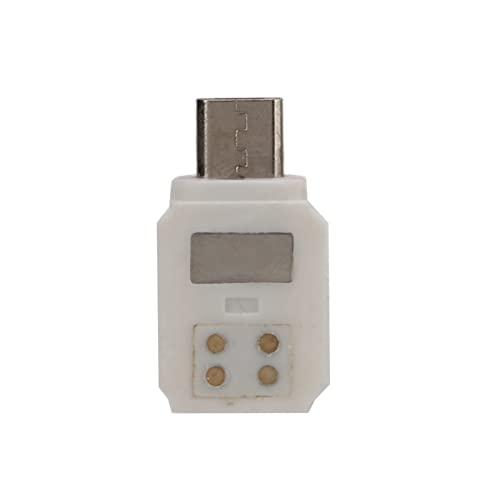 T opiky Adattatore Negativo Micro USB, Adattatore per Smartphone Connettore per Cellulare Adattatore Micro USB Inverso, per Fotocamera Gimbal Palmare per DJI Osmo Pocket 2