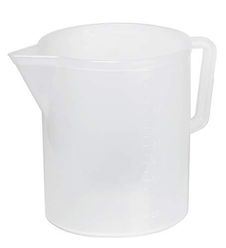 Mobil Plastic - Caraffa alimentare graduata da 5 litri - trasparente