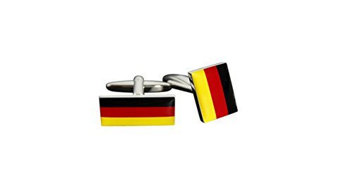 Flaggenfritze® Manschettenknöpfe Fahne / Flagge Deutschland