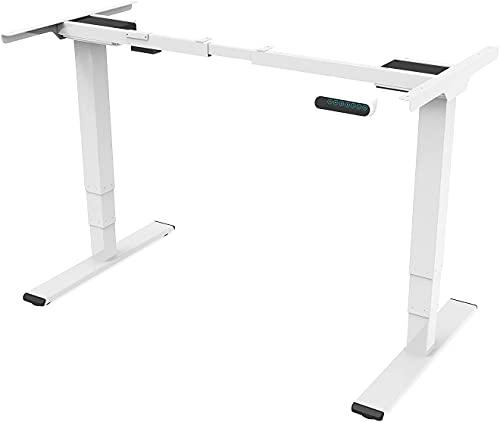 SANODESK EQ Een hoogteverstelbaar bureau. Elektrisch in hoogte verstelbaar tafelframe met 2 motoren plus een 3-voudige…
