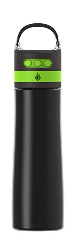 TAL Bluetooth Wireless Speaker 28 oz Water Bottle   with Micro-USB Port, Strobe Lights, and Microphone for Answering Phone Calls   Compatible with iOS, Android, iPhones and Tablets