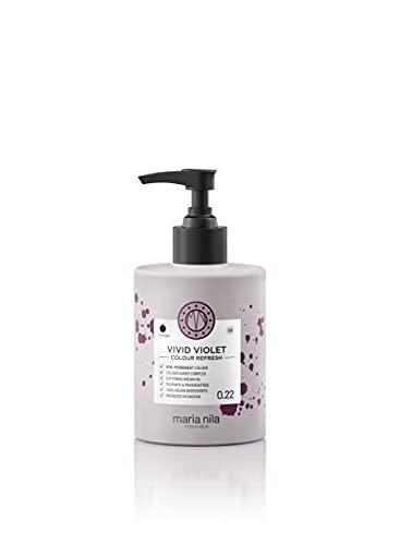 Maria Nila Colour Refresh - Vivid Violet 300ml   Eine revolutionäre Farbmaske zur Auffrischung und Intensivierung der Haarfarbe