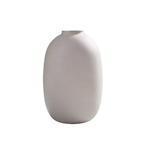 alyf vases Glass Round Ceramic Vase For Home Table Flowers in Vase Decorating Great Gift for Wedding planter vase (Color : D)