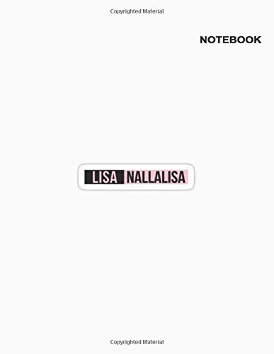 Notebook Blackpink: Lined Journal/Notebook/Composition, 110+ Pages, 8.5' x 11' ( American Standard paper letter sizes ), Blackpink Nallalisa and Rubik Notebook Cover.