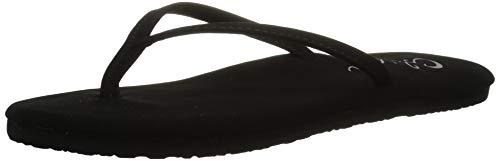 Cobian Women's Nias Black Flip Flops, 6