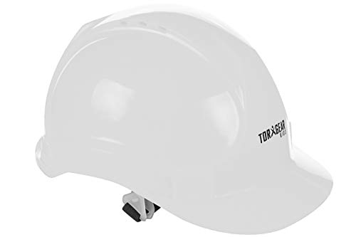 TorxGear Kids White Child's Hard Hat - Children's Construction Helmet - Ages 3 to 6 - for Work or Play
