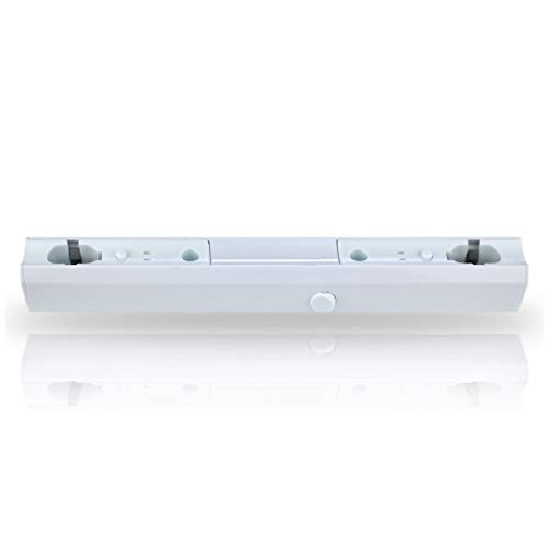 LEDmaxx S14S300 A, Fassung Linienlampe für Osram Linestra Ralina, 35 W, S14s, weiß, 30 x 3.4 x 3.6 cm