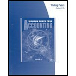 Paperback Accounting Working Papers Chapters 12-25 Book