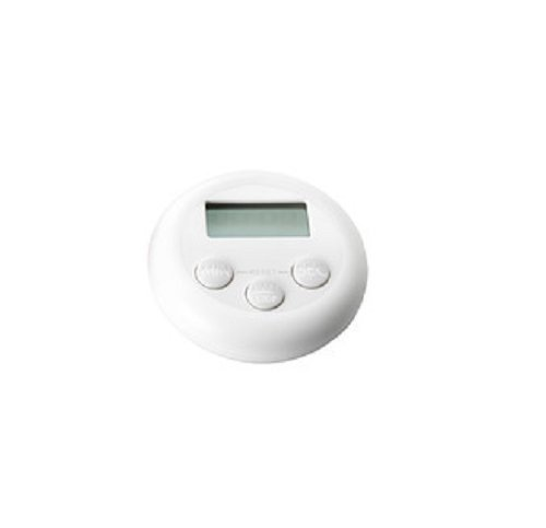 STÄM Timer, digital White - Digital Kitchen Timer IKEA by STAM