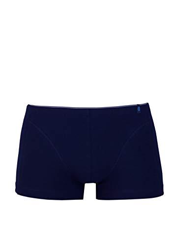 Schiesser Herren Unterhose Shorts 205424, Gr. 6 (L), Blau (801-admiral)