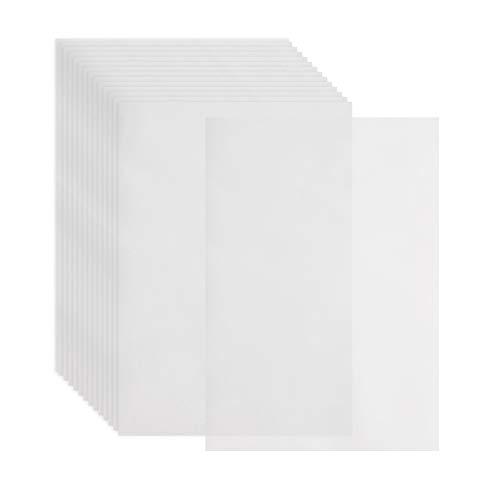 200 Fogli di Carta da ricalco, Formato A4, traslucida, a Sezione Sottile, per dipingere, Schizzi, tracciare Fumetti, Animazioni, Carta da ricalco, per artisti e Studenti.