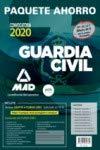Paquete Ahorro BÁSICO Guardia Civil 2020. Ahorra 111 € (incluye Temarios 1, 2 y 3; Test comentados y argumentados 1 y 2; Simulacros de Examen 1 y 2 y acceso a Curso Oro)