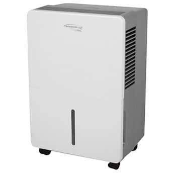 Soleus HCT-D45E-A Compact Digital Dehumidifier, 45 Pints; 120 V, 60 Hz
