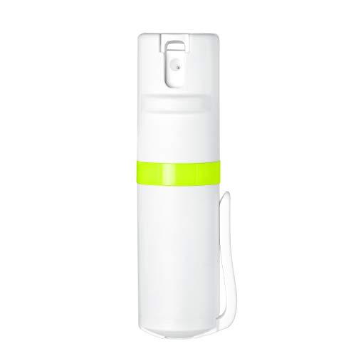 POM Pepper Spray White Flip Top Pocket Clip - Maximum Strength OC Spray - Self Defense - Tactical...