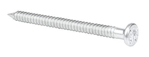 GAH-Alberts 331610 Pointe fixation | galvanisé | 4 x 60 mm | Set 250 pièces