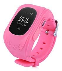 Trackme kids smart watch GPS Tracker for Kids Safety (Pink)