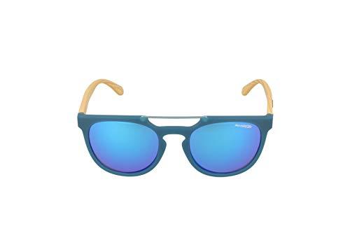 Arnette Woodward, Gafas de Sol para Hombre, Azul (Matte Turquoise), 52