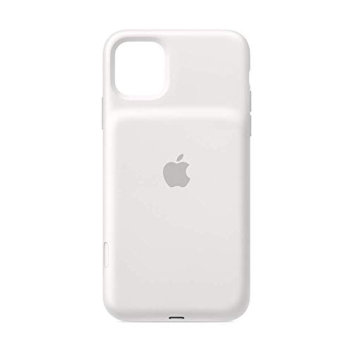 Apple Smart Battery Case con Ricarica Wireless (per iPhone 11 Pro Max), Bianco