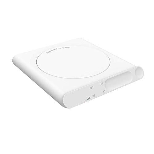 Creative USB Taza de copa Termostato Termostato Termostato Calefacción Dispositivo Calentador Pad Mat Cocina Oficina Herramientas Oficina  ( Color : White )