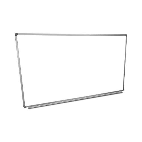 Offex 72'W x 40'H Wall Mounted Dry Erase Magnetic Whiteboard with Aluminum Frame & Marker Tray for Teachers, Students, Children, Classroom, Office