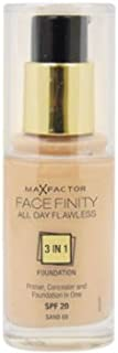 Women Max Factor Facefinity All Day Flawless 3 In 1 Foundation SPF20 - # 60 Sand Foundation 1 pcs sku# 1791948MA